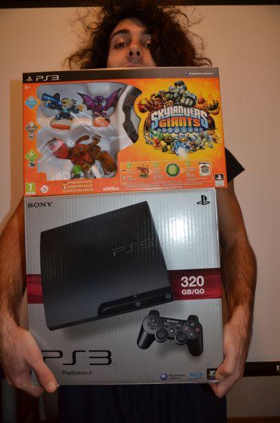 PS3 und Skylander Giants