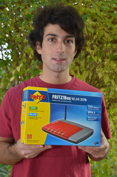 FritzBox WLan3170
