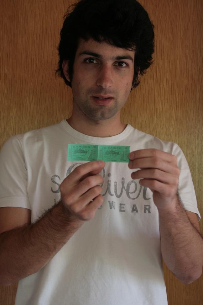 Volksfest Skater Fahrkarten